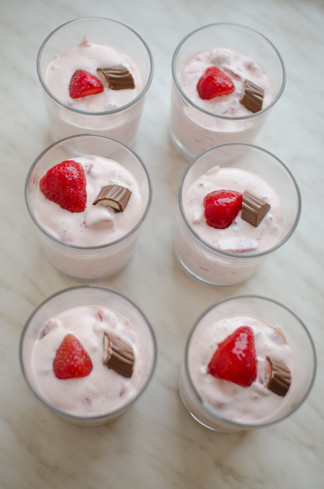 Erdbeer Yogurette Creme Elegant Kochen De