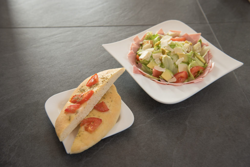 Focaccia_Salat