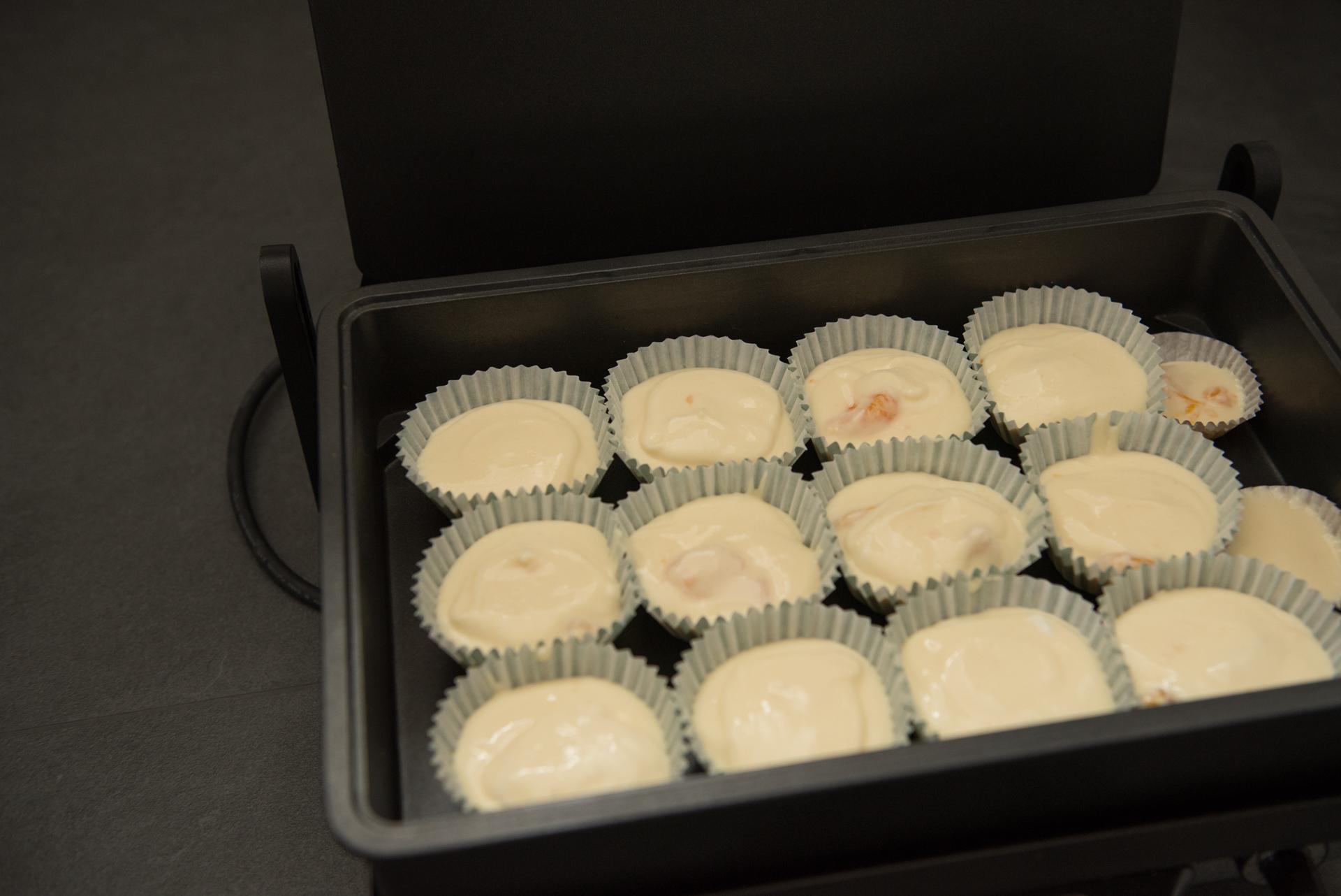 Kasekuchenmuffins Mit Mandarinen Elegant Kochen De