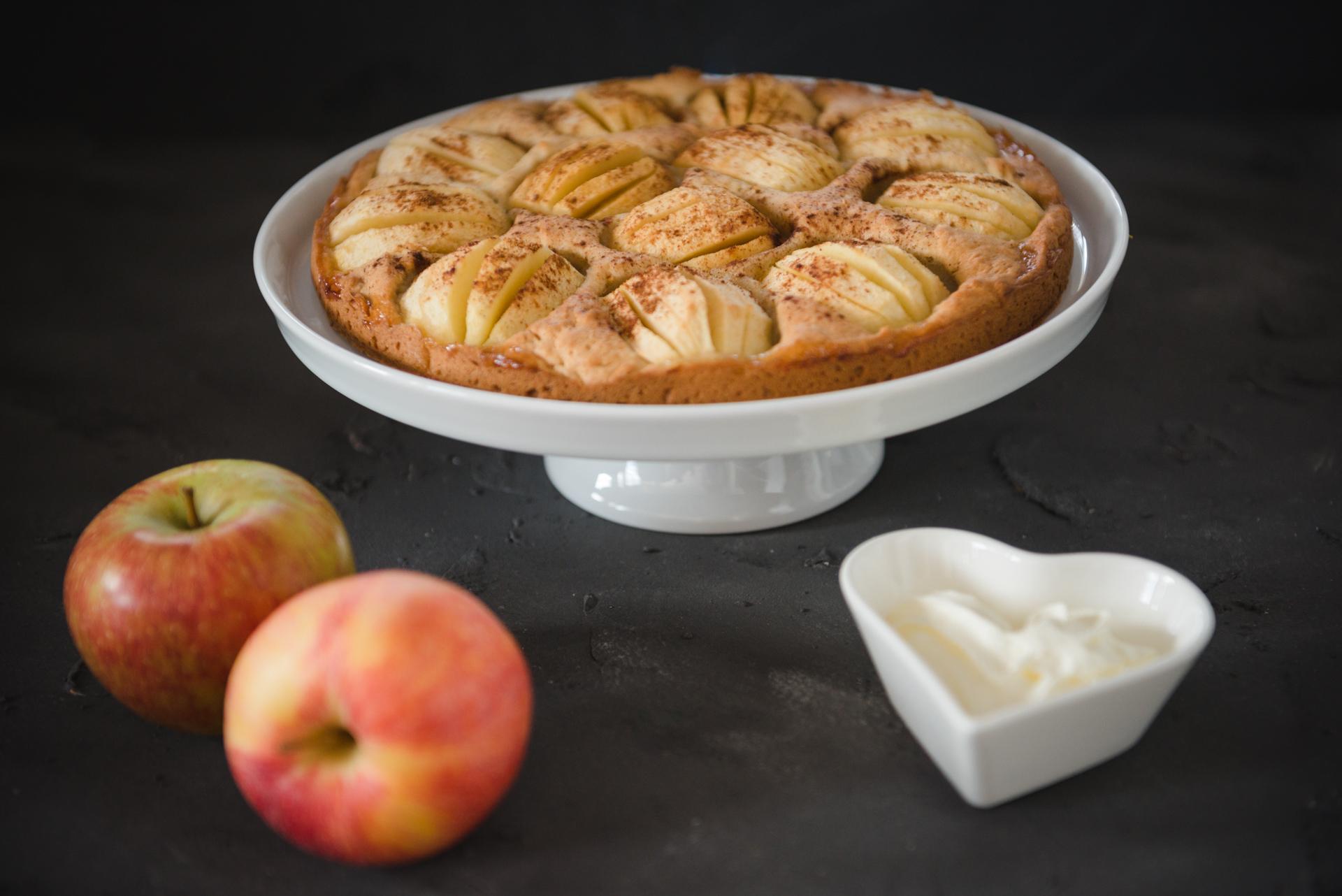 Veganer Apfelkuchen Aus Dem Thermomix Elegant Kochen De
